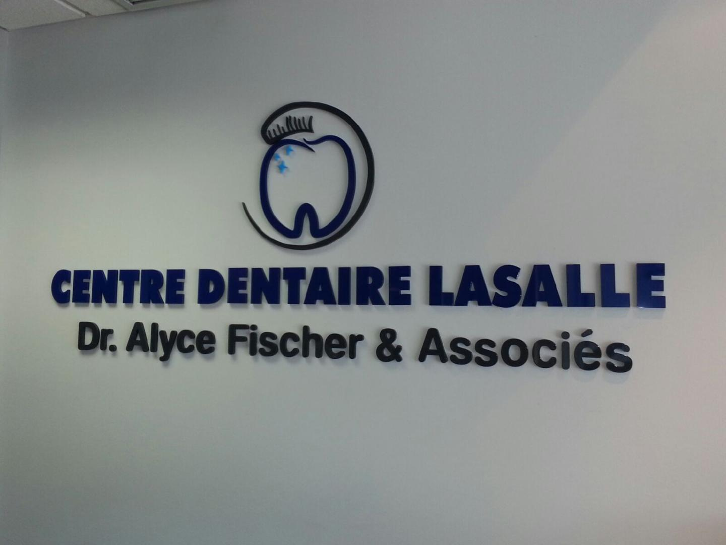 Lettering for Walls - Centre Dentaire Lasalle