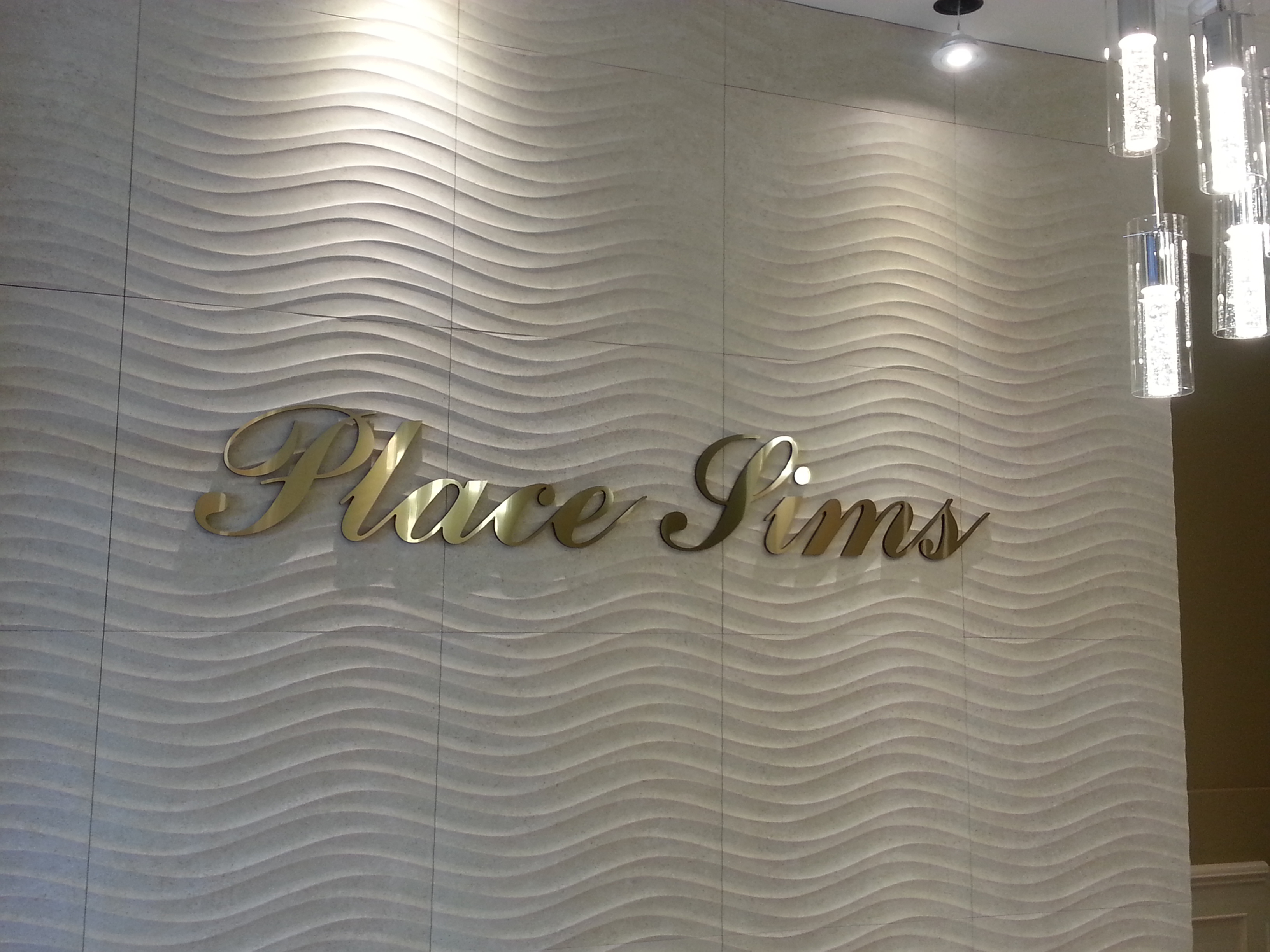 Dimensional Lettering - Place Sims