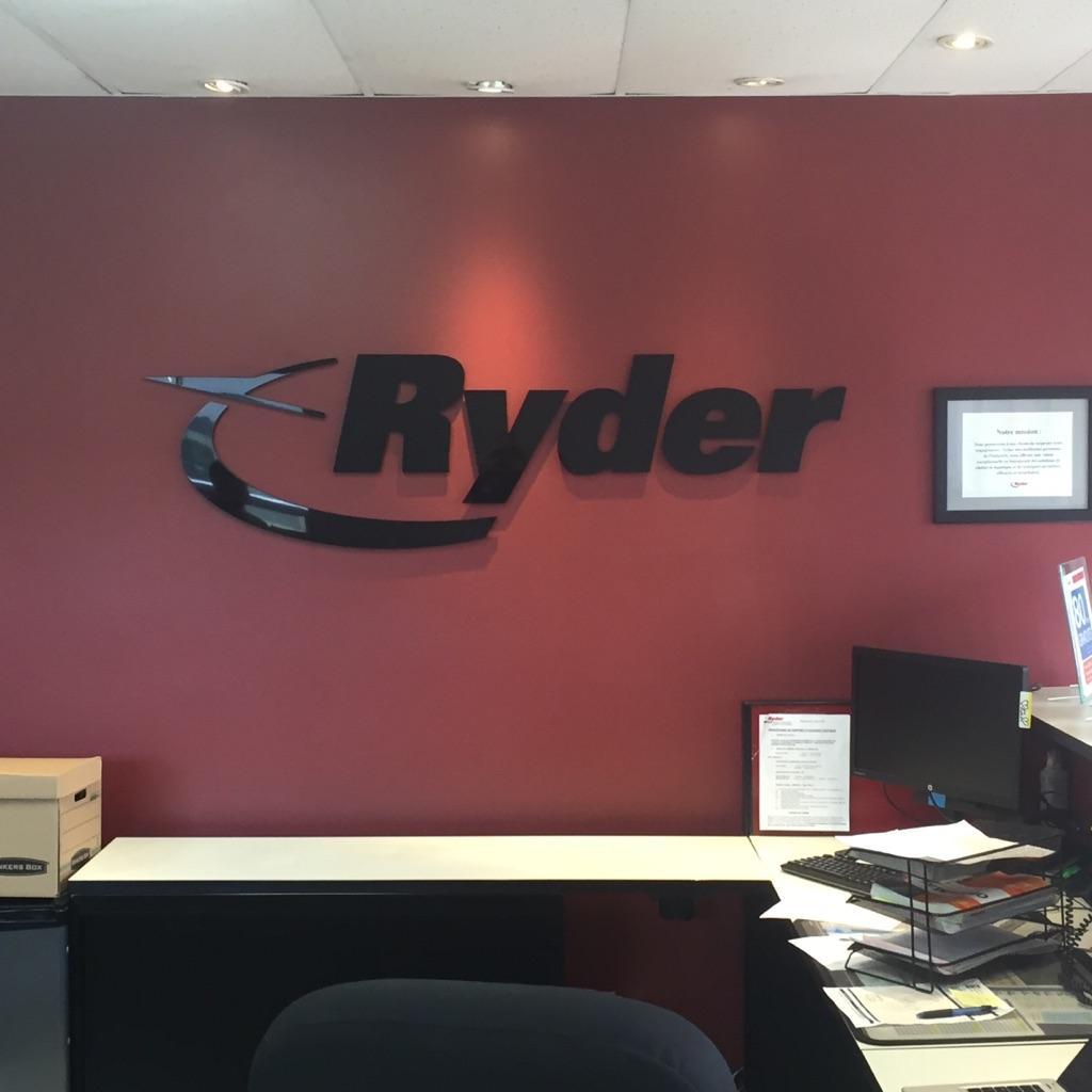 Dimensional Lettering - Ryder