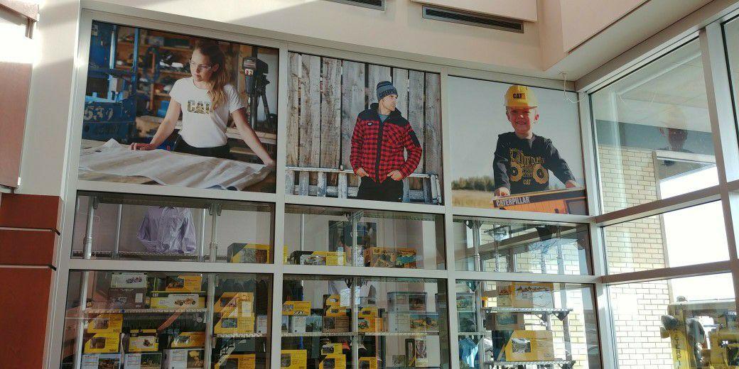 Meta Brands - Coroplast signs for windows