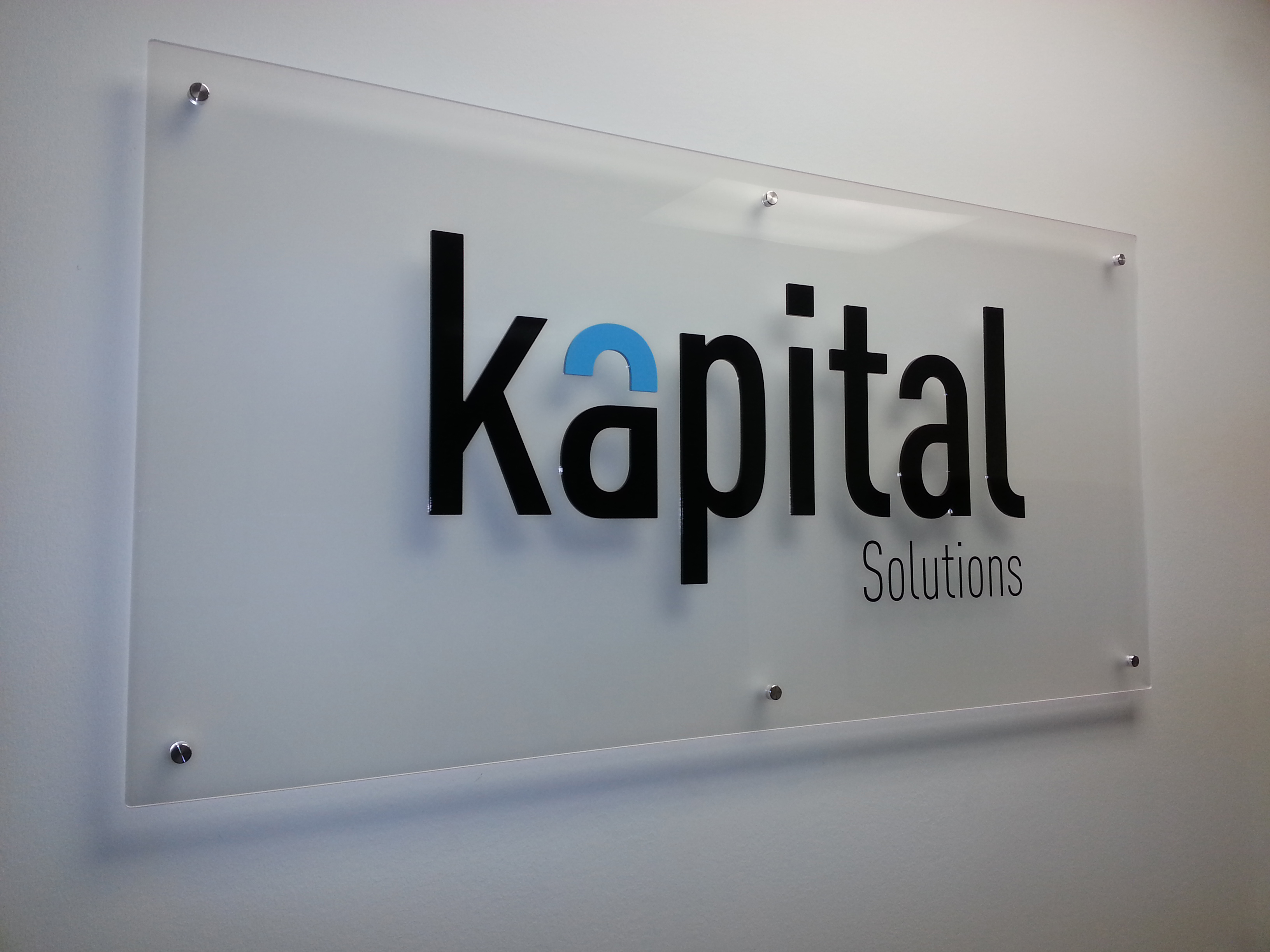 office signs kapital solutions