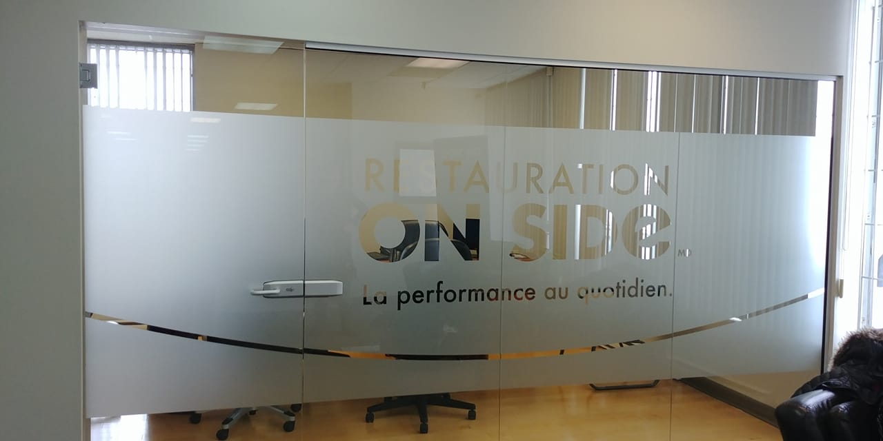 Office Signs - On Side restoration