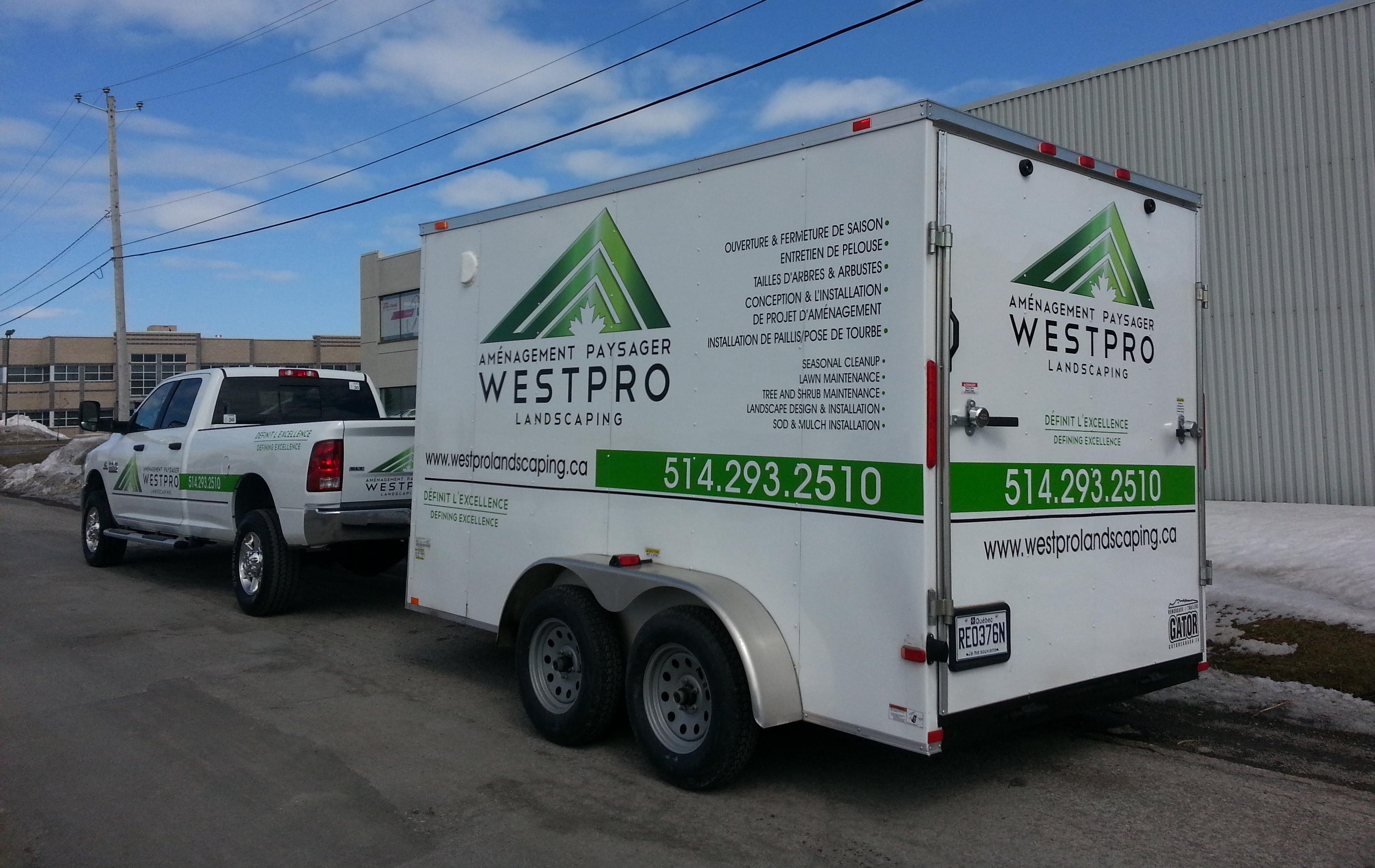 Vehicle Lettering - WestPro