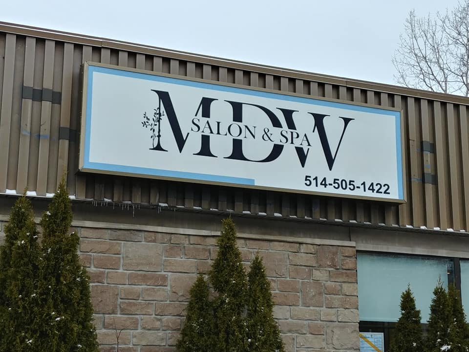 EXTERIOR SIGNS - MDW Salon and Spa