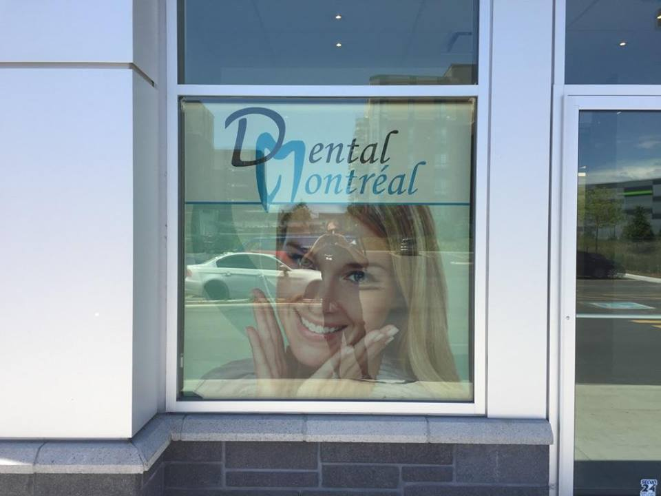 RB Lettrage Serving Montreal And The West Islands Signs Needs - Window decals for dental office